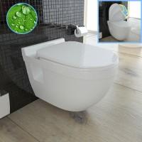 sp lrandloses wc einblick und detail. Black Bedroom Furniture Sets. Home Design Ideas